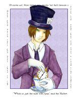 Mad Hatter - Trouble with Time by lissa-quon