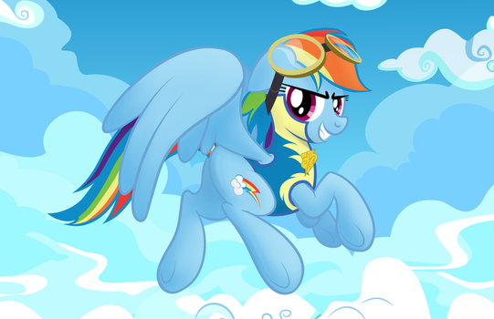 Rainbow Dash's Destiny (As seen on EQD) by artwork-tee