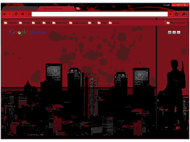 Blood on the Chrome Theme by wPfil