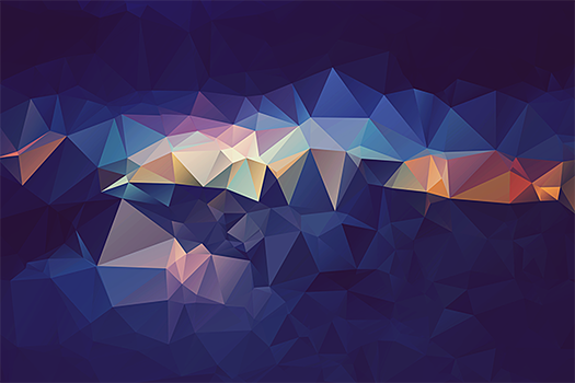 Free Polygonal / Low Poly Background Texture #5 by RoundedHexagon