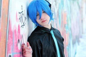 VOCALOID COSPLAY: Kaito Shion by lucky-pain