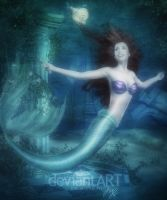 Mermaid Ariel from Disney by MLauviah