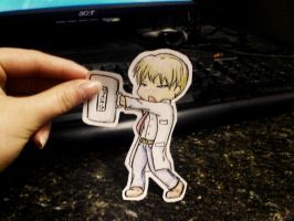 PaperChild - William Birkin :3 by xXKateara-desuXx