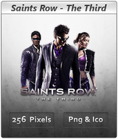 Saints Row The Third - Icon by Crussong