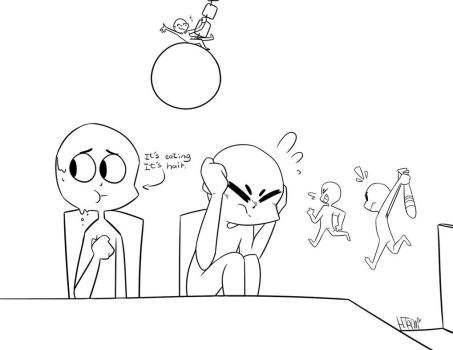 Draw The Squad-An avarge lunch at school by MatthewGames