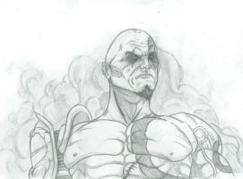 Kratos by THEGODSLAYER91