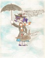 Scary Ari Poppins by BrogarArts