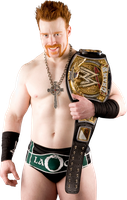 wwe Champion Sheamus PSD by DecadeofSmackdownV2