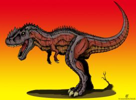 Devastatosaurus Rex by summeronfire