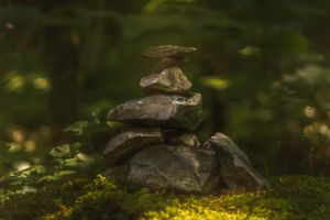 Cairn In The Woods by M-M-F