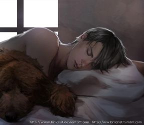 Viktor Nikiforov paint 2 by Brilcrist
