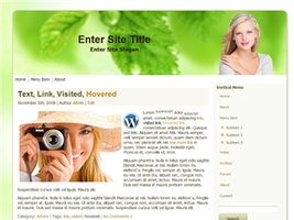 Skincare WP Theme by wastematerials