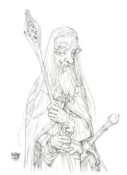 High Res - Gandalf The White by rogercruz