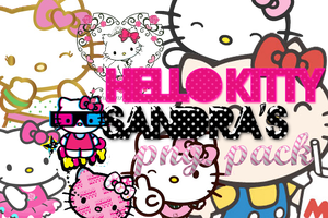 Hello Kitty PNG pack by CanndySoda