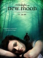 New Moon Fan Poster by thebritishcornflake