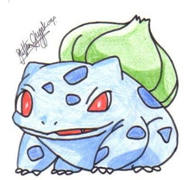 bulbasaur ive made.JPG by tiny-pixel