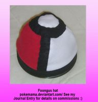 Foongus hat by PokeMama
