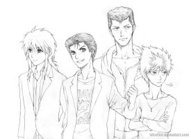 YYH Forever by xilverkit