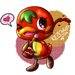 Ducky Ketchup by KiwiBeagle