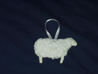 Ewenice the sheep by kaleidescape