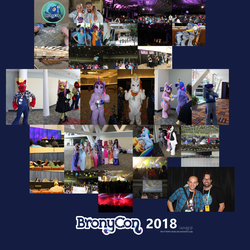 BronyCon 2018 Collage by ShutterflyEQD