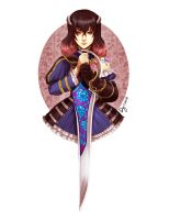 Miriam from Bloodstained by vitamindy