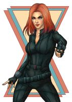 Black Widow by Asenath23