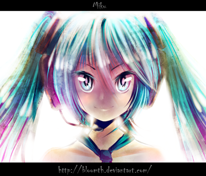 Meet Miku by BloomTH