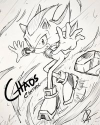 Chaos Control: Sketch by StarSophi