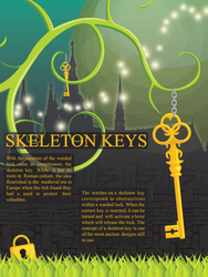 Skeleton key poster by ciara-cable