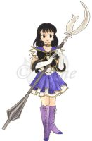 Seramyu Sailor Saturn by mene