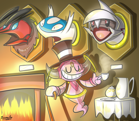 Hoopa Collector by ecumsille