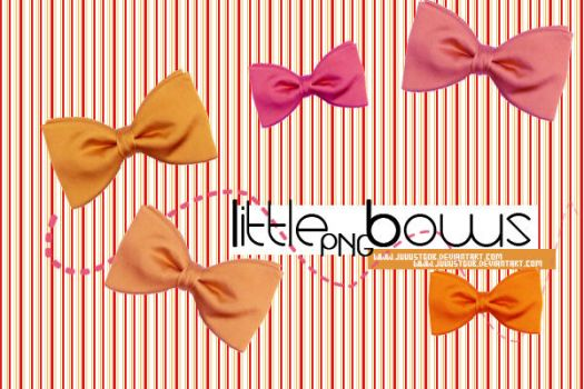 Little Bows PNG Pack by JuuustGPB