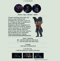 | Nightmare Bonnie Box Code | F2U Non-Core | by MittensTheWhiteCat