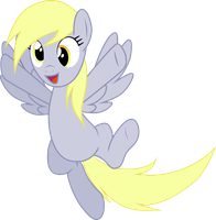 A Happy Derpy [v.2] by SparkPonies