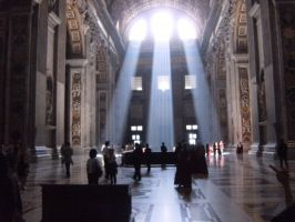 Basilica of Saint Peter by jennamimi