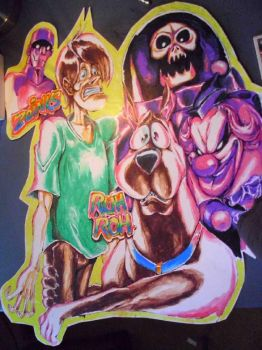 Scooby Doo Poster 1 by EyeOfVogler