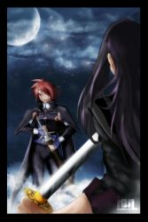 ToSV: The Duel -kiriban by Stealthos-Aurion
