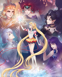 Sailor Moon Moon Crisis 2014 Tribute by Channel-Square