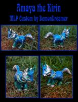Amaya the Kirin MLP Custom by Demondreamer