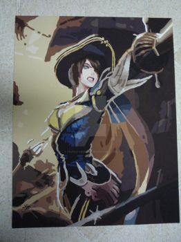 League of Legends - Royal Guard Fiora by TrifinityVortex