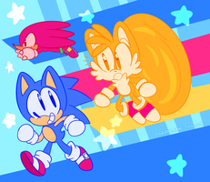 WOAH SONIC MANIA!!! by paranormal-thingum