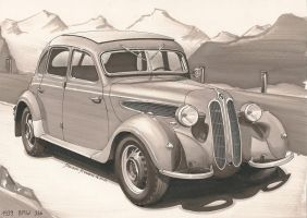 1939 BMW 326 by DominikScherrer