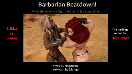 Barbarian Beatdown now on Sale! by Excalib