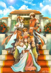 Suikoden IV: Obel Royalty by la-sera