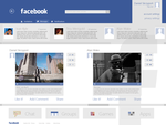 facebook [Modern UI] project concept by danielskrzypon