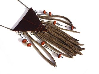 Hippie Fringe Necklace by i-am-enrooted