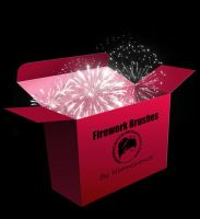 Firework Brush Set by Neonescence