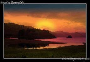 Sunset at Borrowdale by small-onion