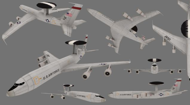 Boeing E-3 Sentry 'AWACS' by ToTac